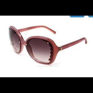 Chloe Butterfly Pink Sunglasses w/case
